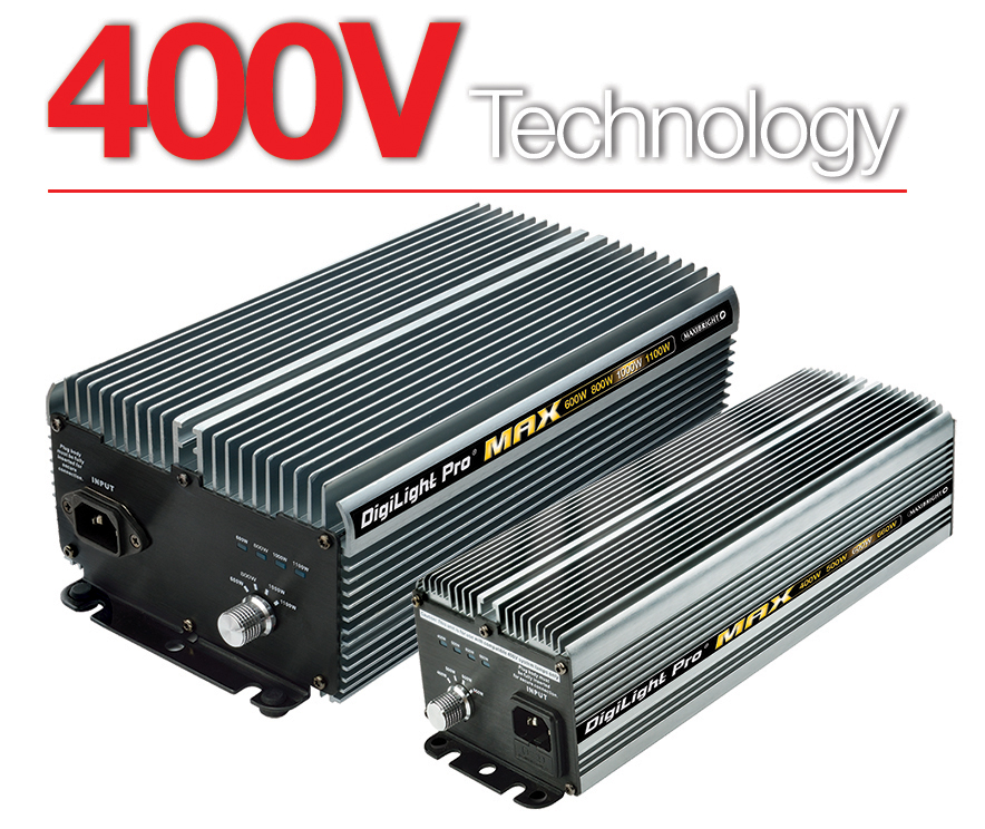 Maxibright Pro® Select 600W and 1000W Power Pack