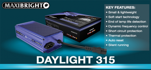 Maxibright Daylight 315 Digital Power Pack