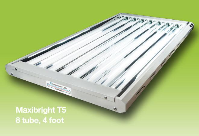 Maxibright T5 8 Tube 4 ft Horticultural Lights
