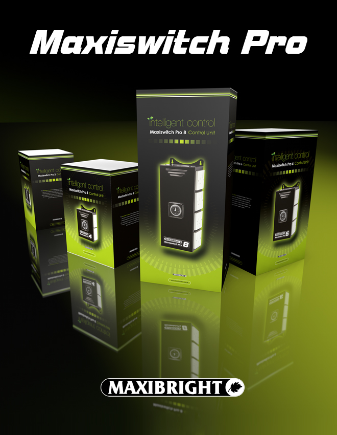 Maxiswitch pro horticultural control units