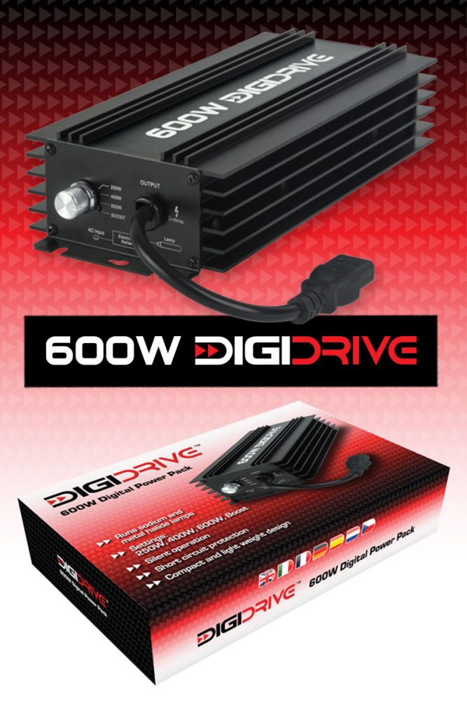 DigiDrive 600W Variable Ballast