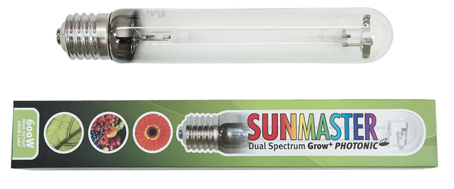 Sunmaster dual spectrum grow plus HID lighting lamps