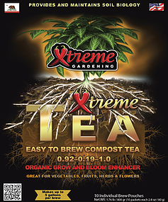Xtreme Tea plant nutrients horticultural products