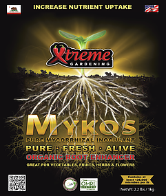 Mykos plant nutrients horticultural products